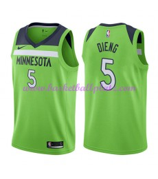 Minnesota Timberwolves Trikot Herren 2018-19 Karl Gorgui Dieng 5# Statement Edition Basketball Triko..